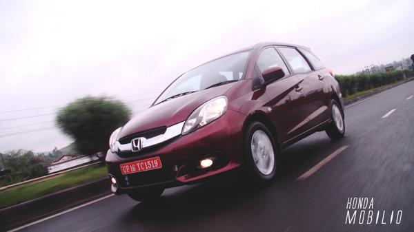 Honda Mobilio: First Drive - CarTrade