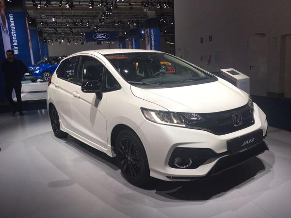Updated Honda Jazz unveiled