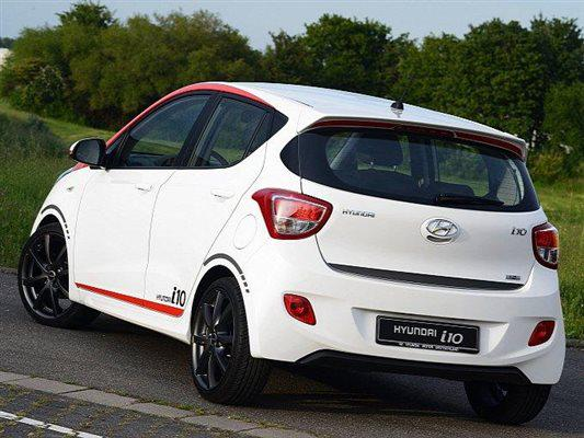 Hyundai i10 Sport launched in Germany