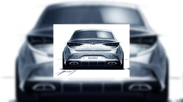 Facelifted Hyundai Sonatas official picture leaks