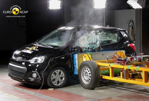 International bound Hyundai i10 gets 4-Star rating in Euro NCAP test