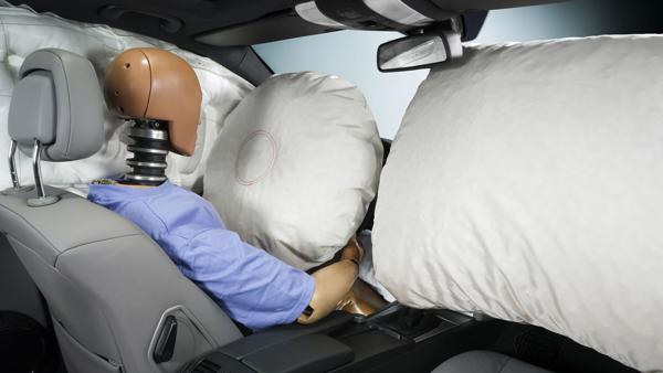 Is the performance of airbags in older cars questionable?