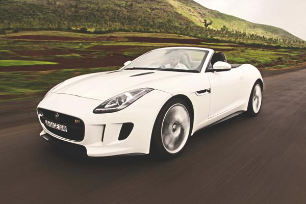 Jaguar F-Type V8 S Convertible: Villainous Extreme - CarTrade