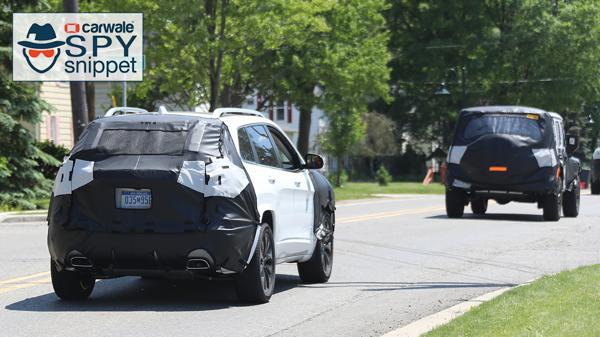 2018 Jeep Cherokee spied testing
