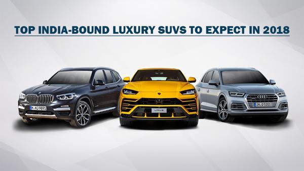 Top luxury SUVS in India in 2018