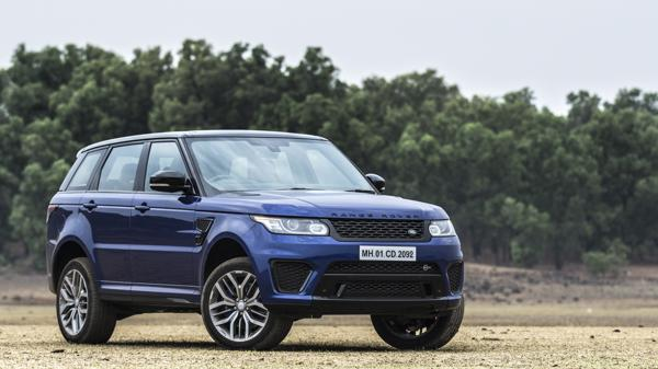Range Rover Sport SVR First Drive Review - CarTrade