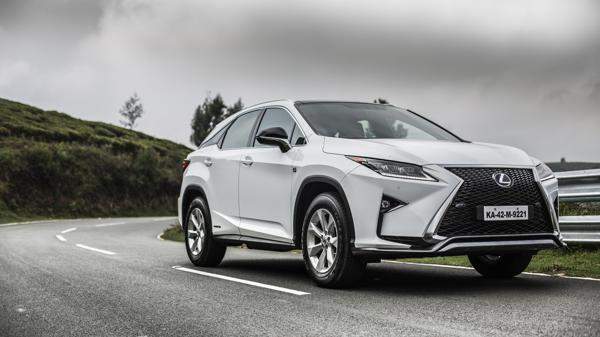 Lexus RX 450h First Drive Review - CarTrade