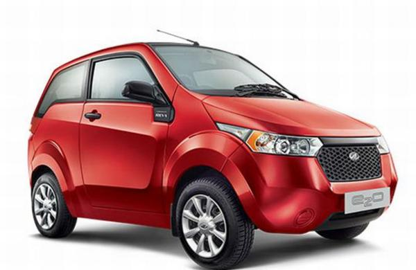 Special features of the Mahindra Reva e2o