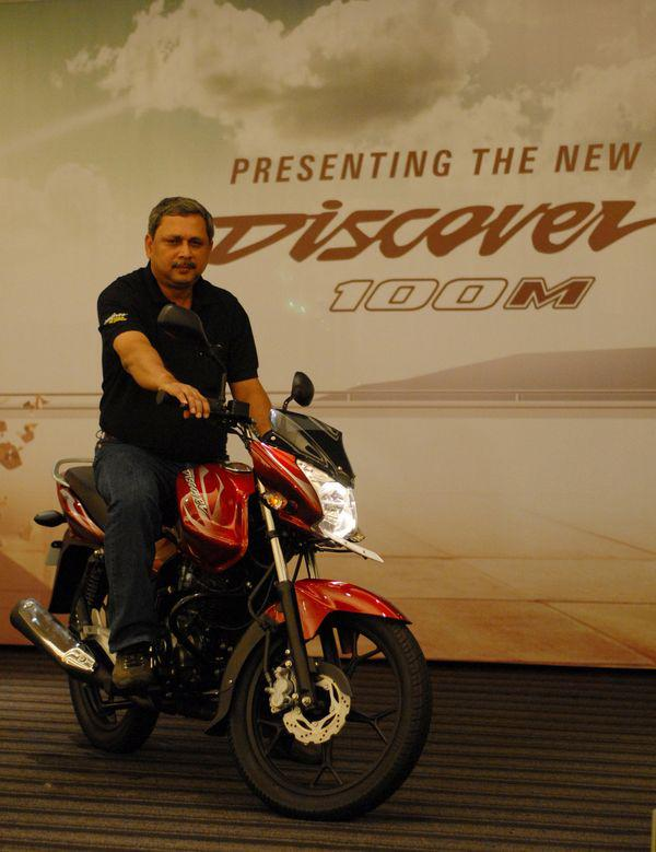 Manufacturer expects Bajaj Discover 100 M to be a huge success