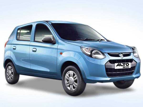 1) Maruti Suzuki Alto 800