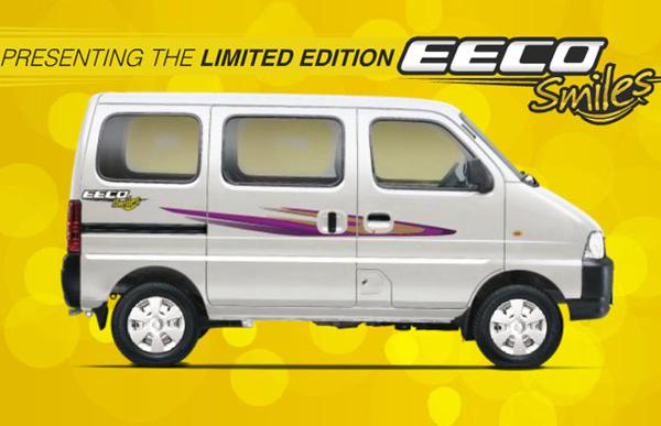 Maruti Suzuki launches limited edition Eeco 'Smiles'
