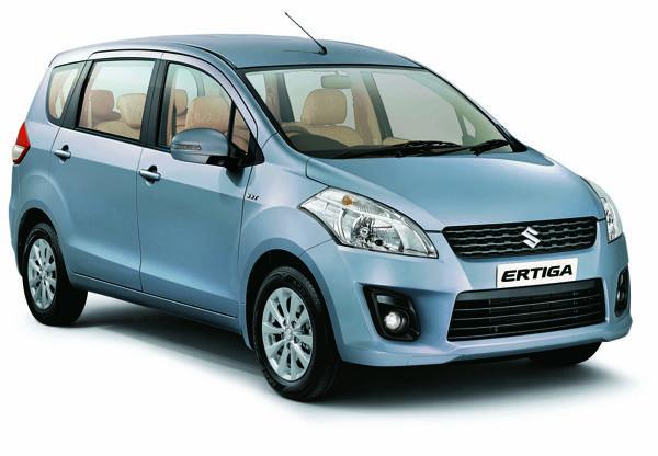Maruti Suzuki Ertiga to soon come in a CNG variant