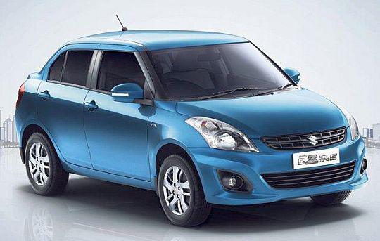 9) Maruti Suzuki Swift DZire