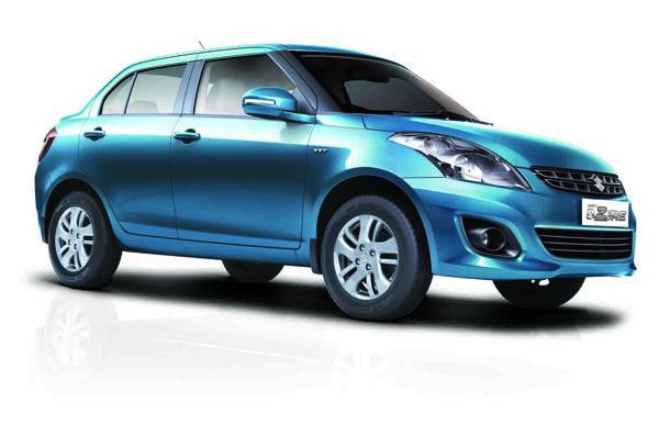 Top 3 fuel efficient sedans in India .