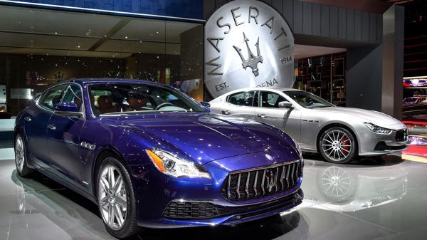 Maserati unveils upgraded Quattroporte and Ghibli at the 2016 Paris Motor Show