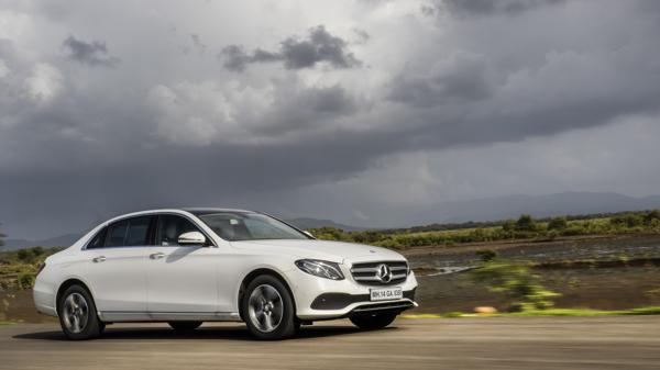 Mercedes-Benz E-Class E220d First Drive Review - CarTrade