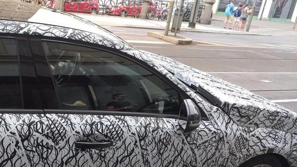 2019 Mercedes A-Class makes an appearance