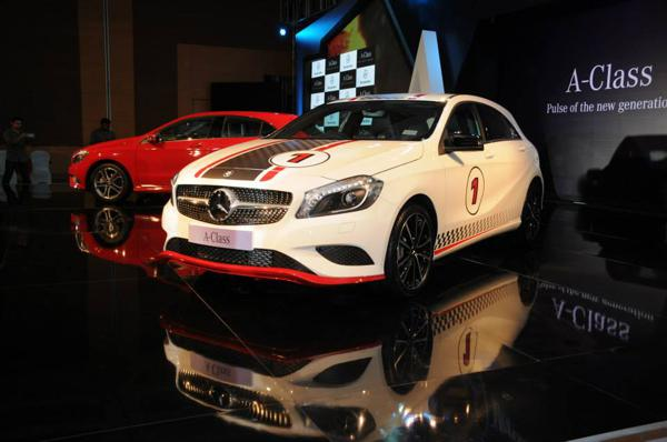 Mercedes-Benz A-Class Launched at 21.93 lakh .