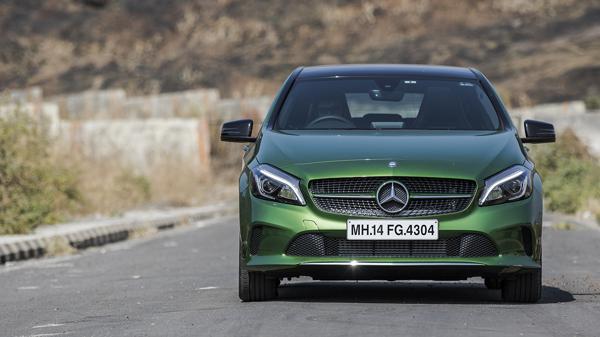 Mercedes-Benz A-Class Facelift First Drive Review - CarTrade
