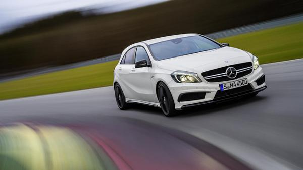 Mercedes-Benz CLA 45 AMG revealed in a new Sony PS4 game called 'Driveclub'