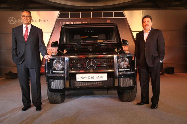 Mercedes-Benz pulls off the curtains from new G63 AMG in India