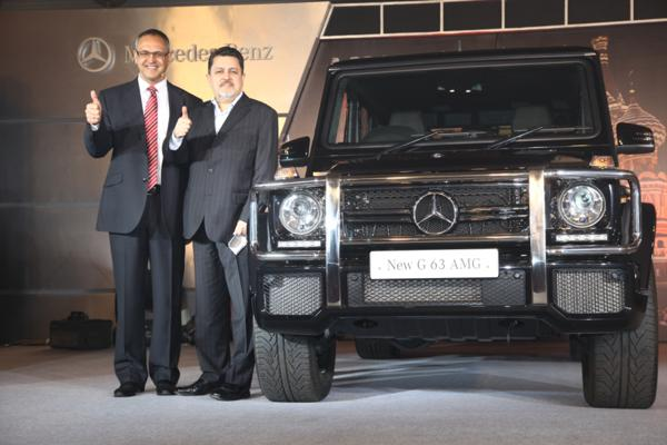 Mercedes-Benz pulls off the curtains from new G63 AMG in India.