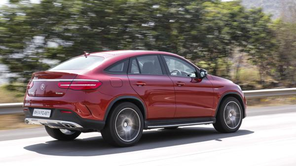 Mercedes GLE 450 AMG Coupe 45