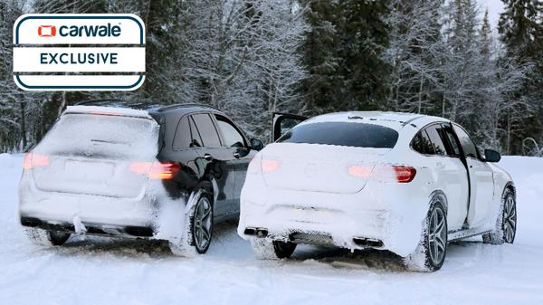 GLC 63 AMG Coupe spied testing