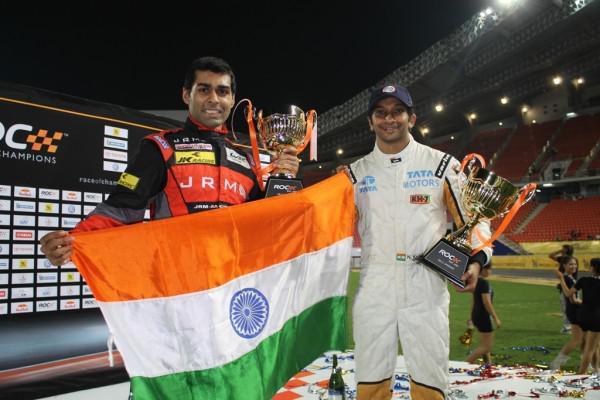 Narain Karthikeyan and Karun Chandhok sign up for Race of Champions