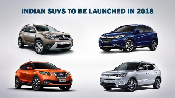 Indiabound SUVs in 2018