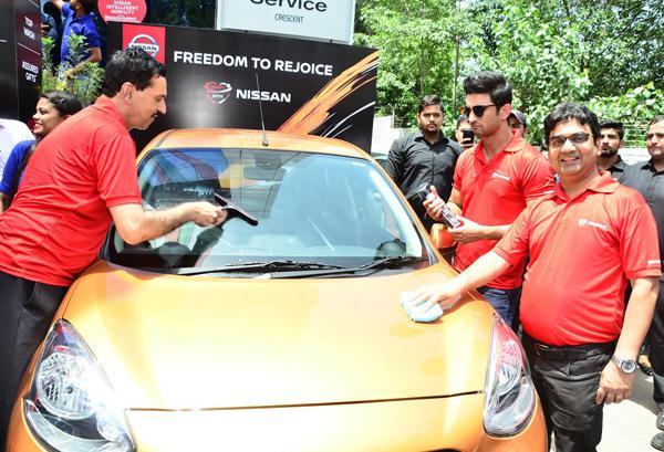 Nissan dealerships in India begin waterless car cleaning