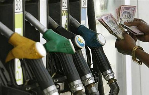 Petrol prices increased by Rs. 1.82 per litre