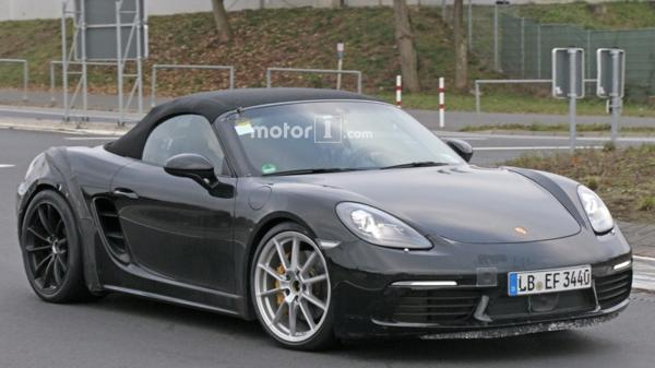 Porsche tests 718 Boxster GTS on the Nurburgring