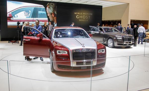 Rolls Royce Ghost Series II India launch slated in November 2014