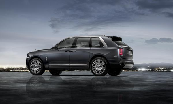 All-new Rolls-Royce Cullinan revealed