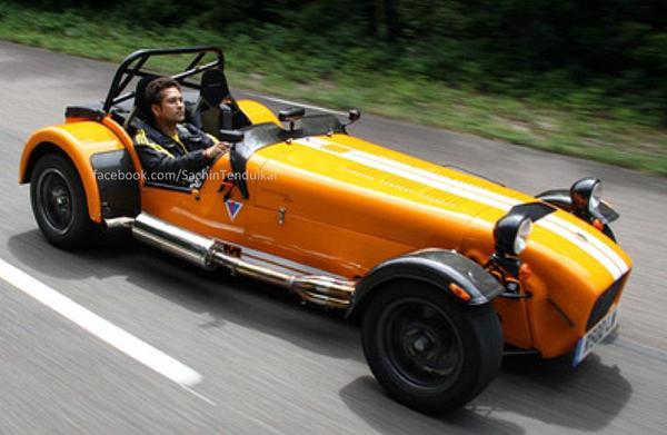 Sachin Tendulkar and his passion for wheels.