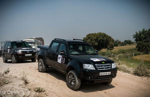 Tata Motors Full Throttle Trails to be organised in Bhopal on April 7, 2013