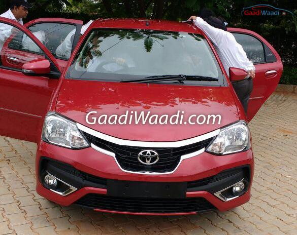 Toyota Etios facelift revealed inside out before official launch