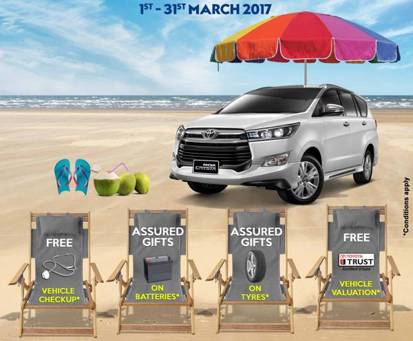 Toyota organises Summer Service campaign in South India