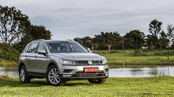 Volkswagen Tiguan First Drive Review - CarTrade