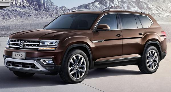 Volkswagen Teramont goes official in China