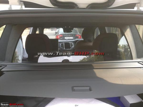 Three-seat Volvo XC90 Excellence spotted in India