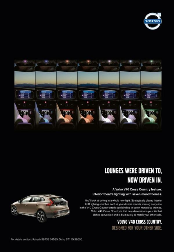 Volvo V40 Cross Country to be launched on June 14, 2013 .