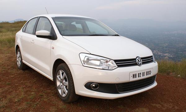 5) Volkswagen Vento