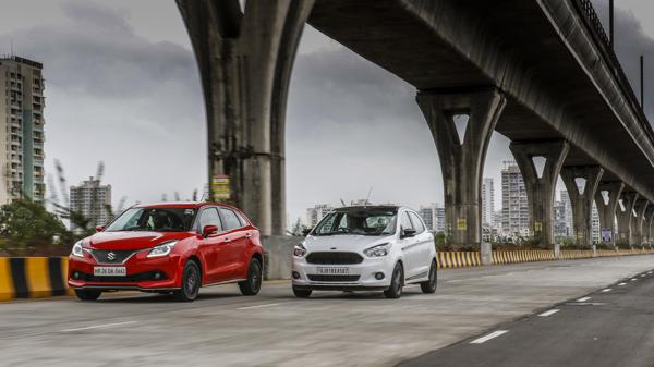 Ford Figo S vs Maruti Suzuki Baleno RS
