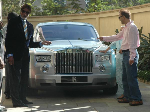 Amitabh Bachchan and his car luxuries