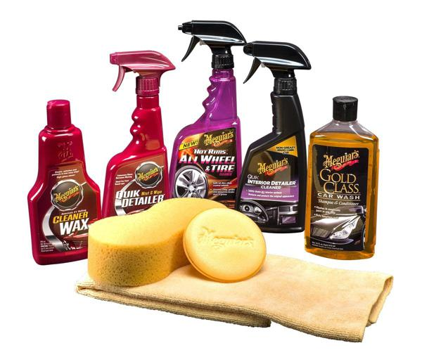 Car interior and exterior cleaning tools