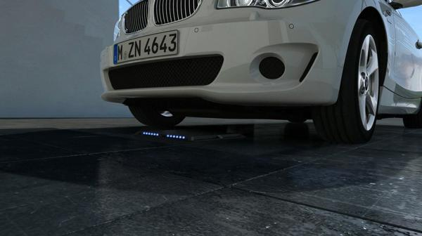Inductive charging technology from bmw for electric cars