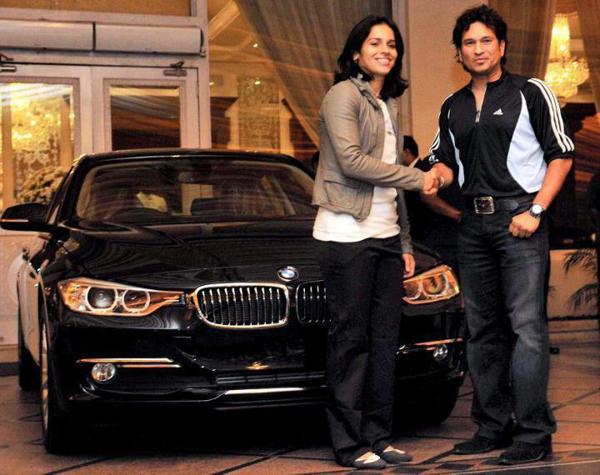Sachin Tendulkar gifted BMW to Saina Nehwal back in 2012