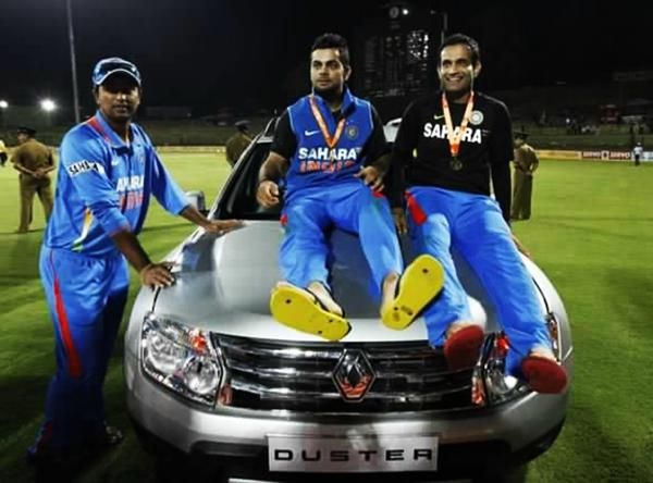 Virat Kohli and his pricey cars